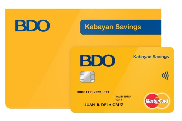 kabayan Passbook SAMPLE