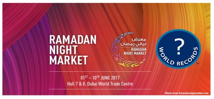 UAE To Set World Record At The Ramadan NightMarket