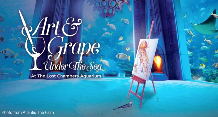 Art Under The Sea In Atlantis Dubai