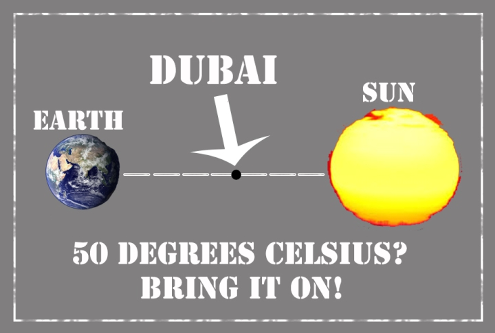 50 Degrees In UAE? Bring It On!