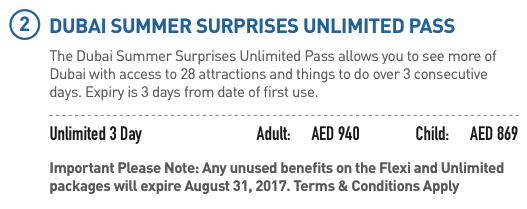 DSS unlimited pass